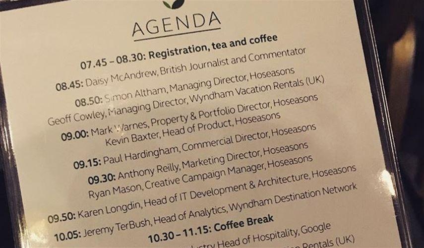 Hosconf16 agenda