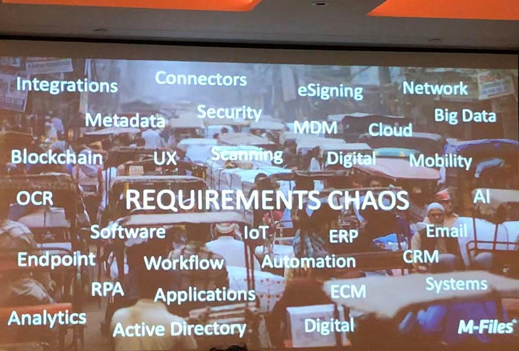 Requirements Chaos - Engaging Digital Natives - M-Files