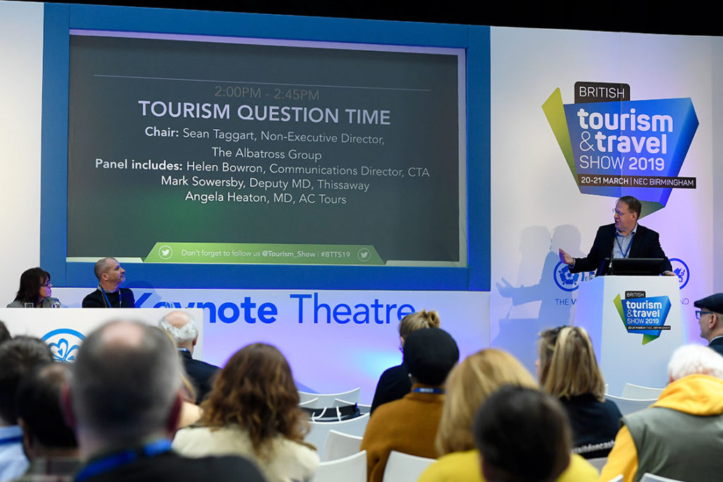 Tourism Question Time at the British Tourism & Travel Show 2019